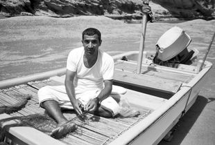 Fisherman, Oman 2013