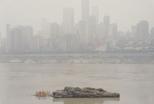 Stone in the Middle of the River, Chongqing, 2013.
