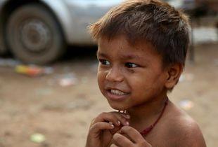 Beautiful faces of the Delhi slums