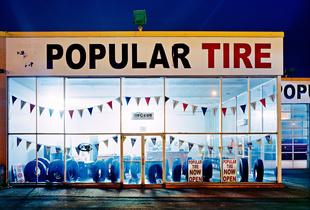 """""""Tire Shop, Parkdale, Hamilton, Ontario"""" 2015"""