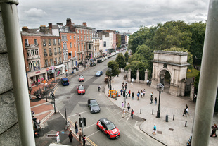 from Stephen's Green Shopping Centre