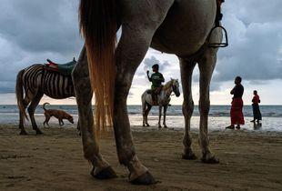 Beach Scene, Chaung Tha, Myanmar