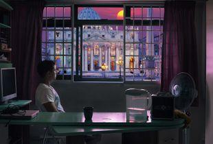 Darren Dreaming of Rome © Benjamin Ziggy Lee
