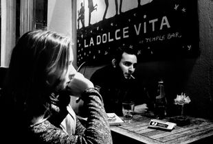 Cover shot for La Dolce Vita.