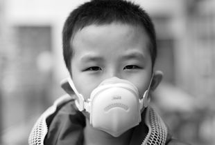 Fu Chunmei's 9-year-old son, from Beijing.