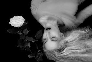 Gesang mit Rose