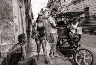 Street Corner - Havana, Cuba