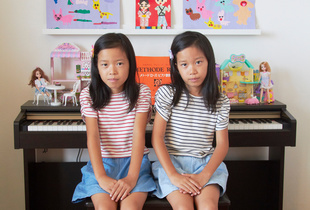 Double Life, Chiyuri  & Chieri, 8 years old, Osaka