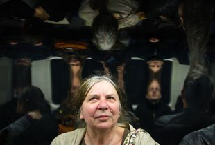 Strange people on the London tube