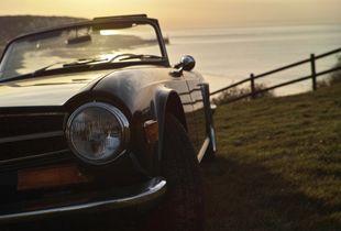 Triumph TR6 -Front view