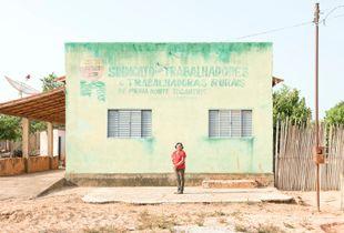 Maria Do Socorro, Babassu woman, Tocantins State, Brazil