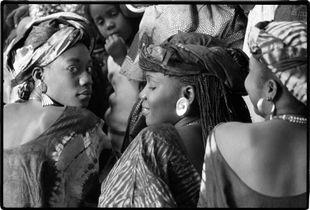 High school students, Dakar, Senegal  © Betty Press