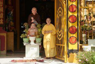 The nun in Chau Doc