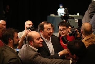 Democratic Party Primary Election. Teatro Elfo Puccini, Milano, February 7th, 2016