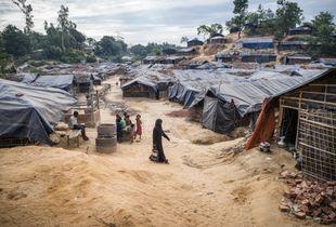Balu Kali Refugee Camp