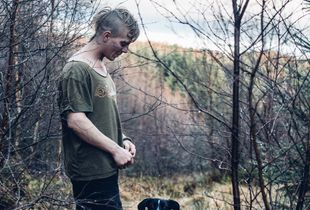 Portrait of Luke and Ay-you in The North Yorkshire Moors