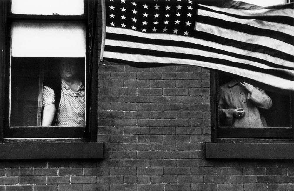 Parade hoboken new jersey 1955 from the americans robert frank
