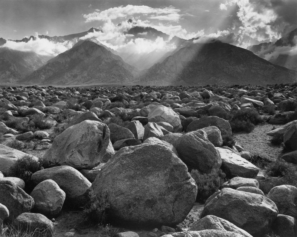 Mount Williamson Clearing Storm 1944 C Ansel Adams Courtesy Of The Artist