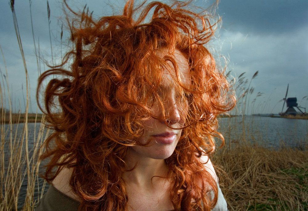 Natural Red Hair - Photographs By Hanne Van Der Woude -1510