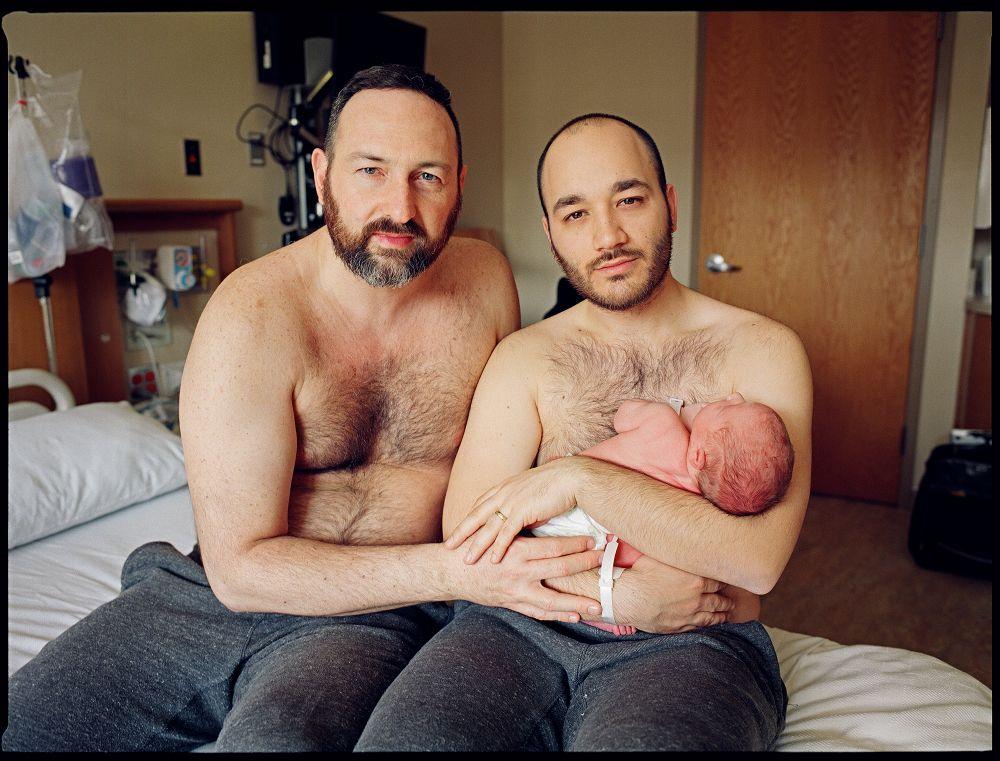 Секс сына гея с папой геем