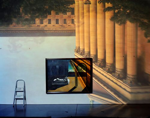 Lovely Camera Obscura Image Of The Philadelphia Museum Of Art East Entrance In  Gallery #171 With