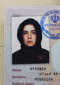 Afsaneh Mobasser, age 39