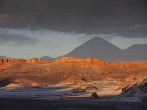 Lincancabur Volcano, the Chile/Bolivia border.
