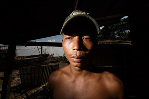 Ko Aung Aung, 27 years, has a wife and two children.