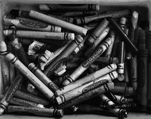Crayons, 1987 © Abelardo Morell
