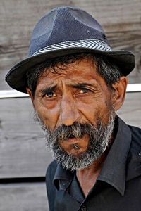 Old Gypsy Man