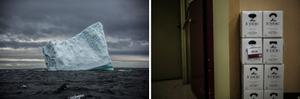 Iceberg, St. Lunaire; Iceberg, Placentia