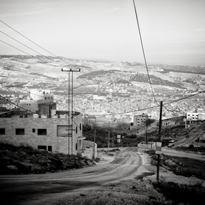 View at Baqa'a camp, Jordan
