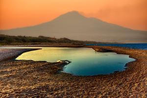 Sunset Etna