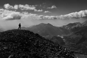 Peak of Mount Ziria, Peloponnese (October 6, 2012)
