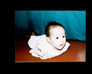 Thuy` Linh as an infant.