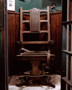 Mock Electric Chair in Bar