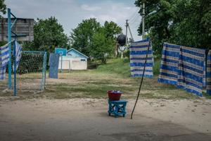 Gagauzia, Moldova Republic. A holiday camp for school children© Petrut Calinescu