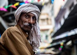 Man in Spice Market