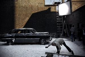 "Shanghai Film Studios, China 2006.  Set of the  film ""Tian-Tan-Kou""."