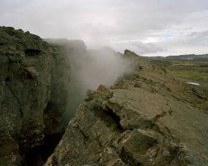 Steam, Myvatn, Iceland.