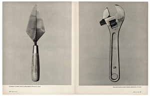 Beauties of the Common Tool, Fortune © Walker Evans and courtesy of The Metropolitan Museum of Art