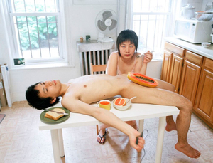 "Start your day with a good breakfast together. From the series ""Experimental Relationship"" © Yijun Liao"