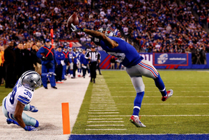 The Beckham Catch. Sports Singles. Al Bello, USA, Getty Images.