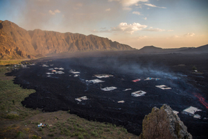 living with a volcano Cape Verde