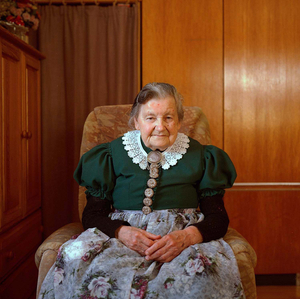Maria Hammerl, Aichacher Land, Bavaria, 2015. From the series: The last women in their traditional peasant garbs