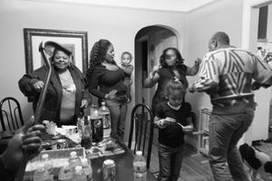House party.  Detroit, MI 2012