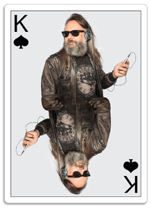 Planing Card - King of Spades