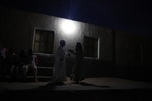 Nighttime in Aswan