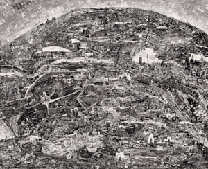 Diorama Map Berlin © Sohei Nishino/Courtesy of Michael Hoppen Contemporary