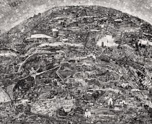 Diorama Map Berlin © Sohei Nishino/Courtesy of Michael Hoppen Contemporary